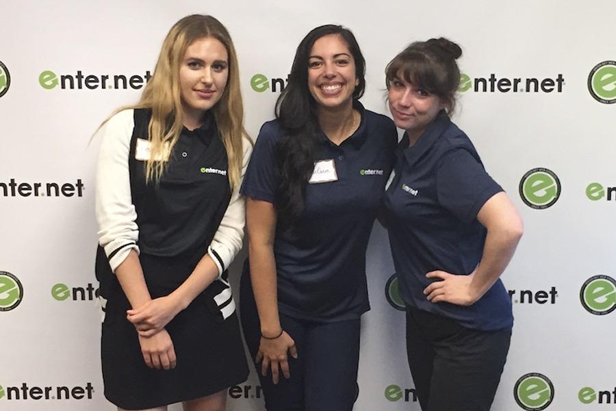 Enter.Net Girls at Open House